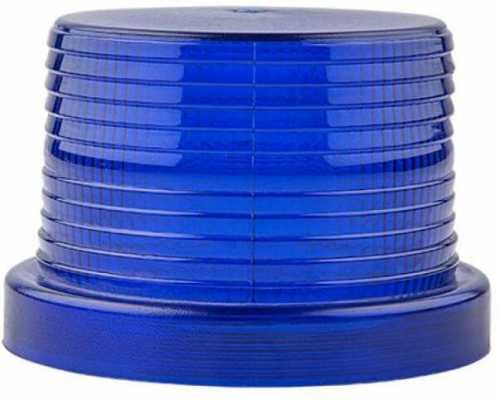 Линза диаметр 90 мм синяя