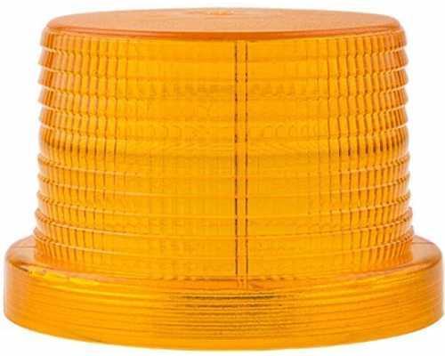 Линза диаметр 90 мм желтая