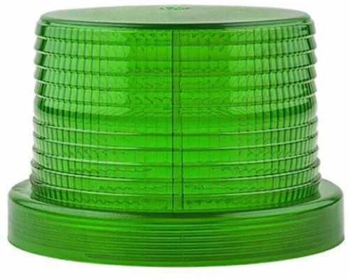 Линза диаметр 90 мм зеленая