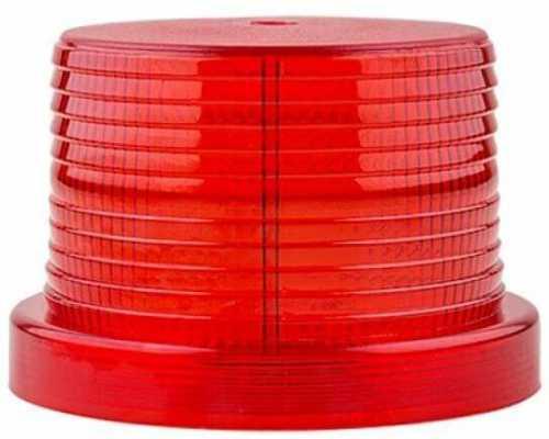 Линза диаметр 90 мм красная