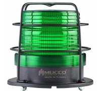 Универсальный сигнальный маячок, стробоскопический с 5 режимами, 12-24VAC/DC, цвет зеленый