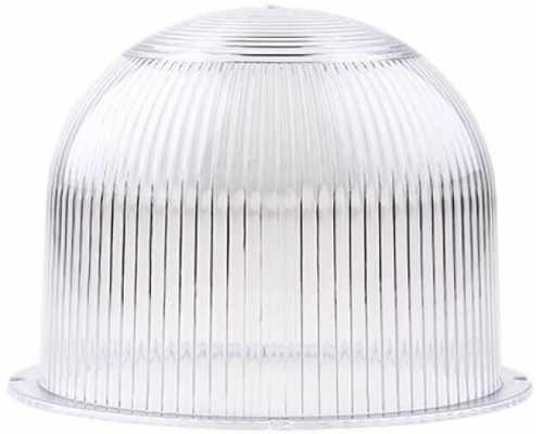 Линза диаметр 120 мм белая