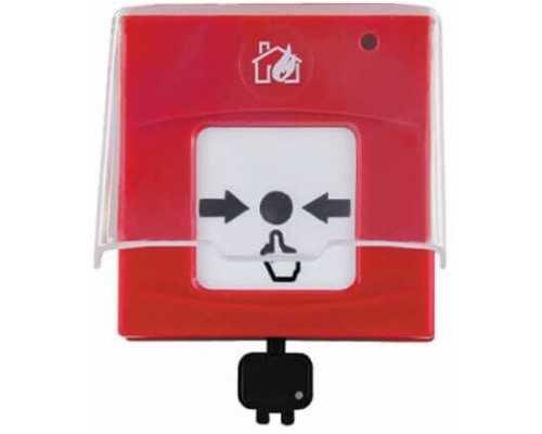 Переносная кнопка пожарной сигнализации, 220V/AC, цвет Белый