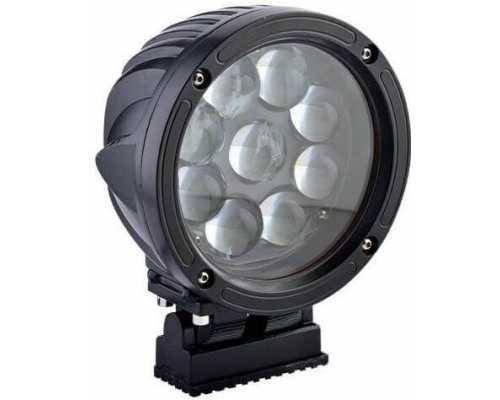 Светодиодный фонарь безопасности для кранов, 60 Вт, 10-30V/DC, цвет Красный