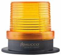 Универсальный сигнальный маяк, стробоскопический с 5 режимами и зуммером, 85-260VAC/DC, цвет желтый