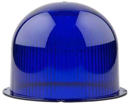 Линза диаметр 120 мм синяя