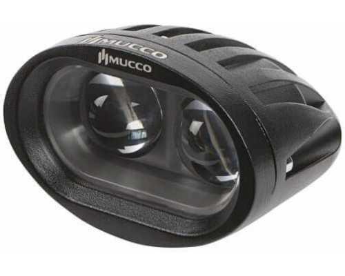 Светодиодный фонарь безопасности для погрузчиков, 10 Вт, точка, 8-80V/DC, цвет Желтый