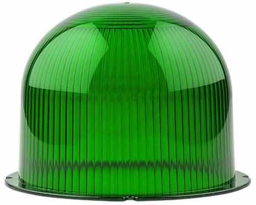 Линза диаметр 120 мм зеленая