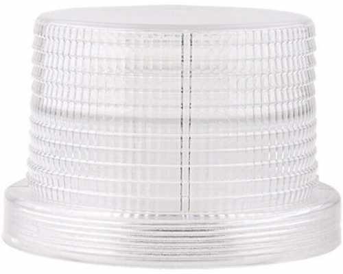 Линза диаметр 90 мм белая