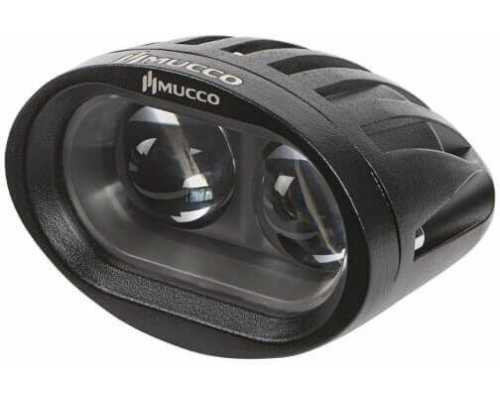 Светодиодный фонарь безопасности для погрузчиков, 10 Вт, точка, 8-80V/DC, цвет Зеленый