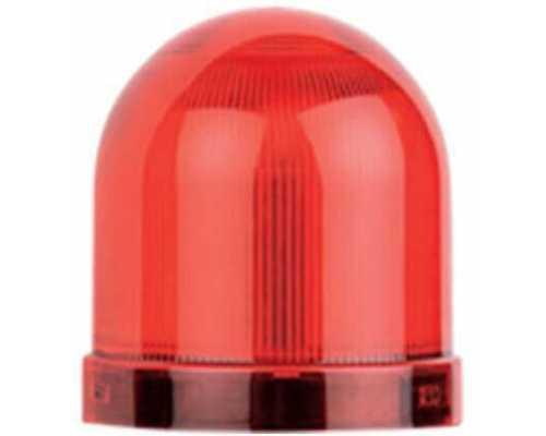 Линза диаметр 70 мм, цвет красный