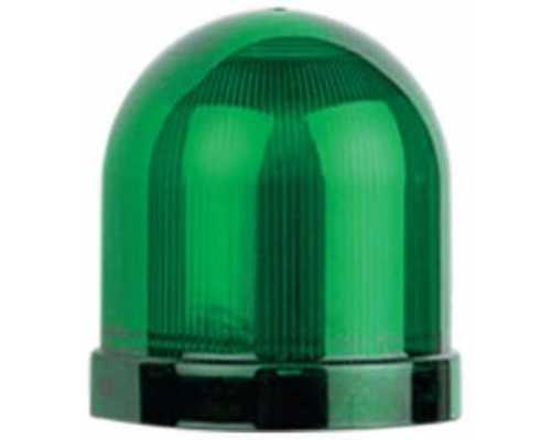 Линза диаметр 70 мм, цвет зеленый