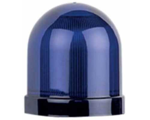 Линза диаметр 70 мм, цвет синий